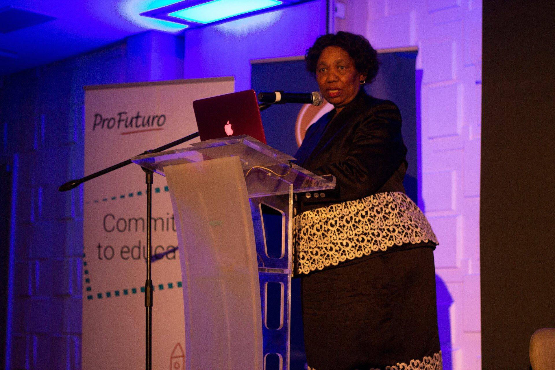 Minister of Basic Education Angie Motshekga