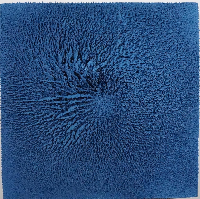 Object No. 006    Caesar Alzate Jr.  Acrylic on Canvas, 2017  12x12  $2,500.00