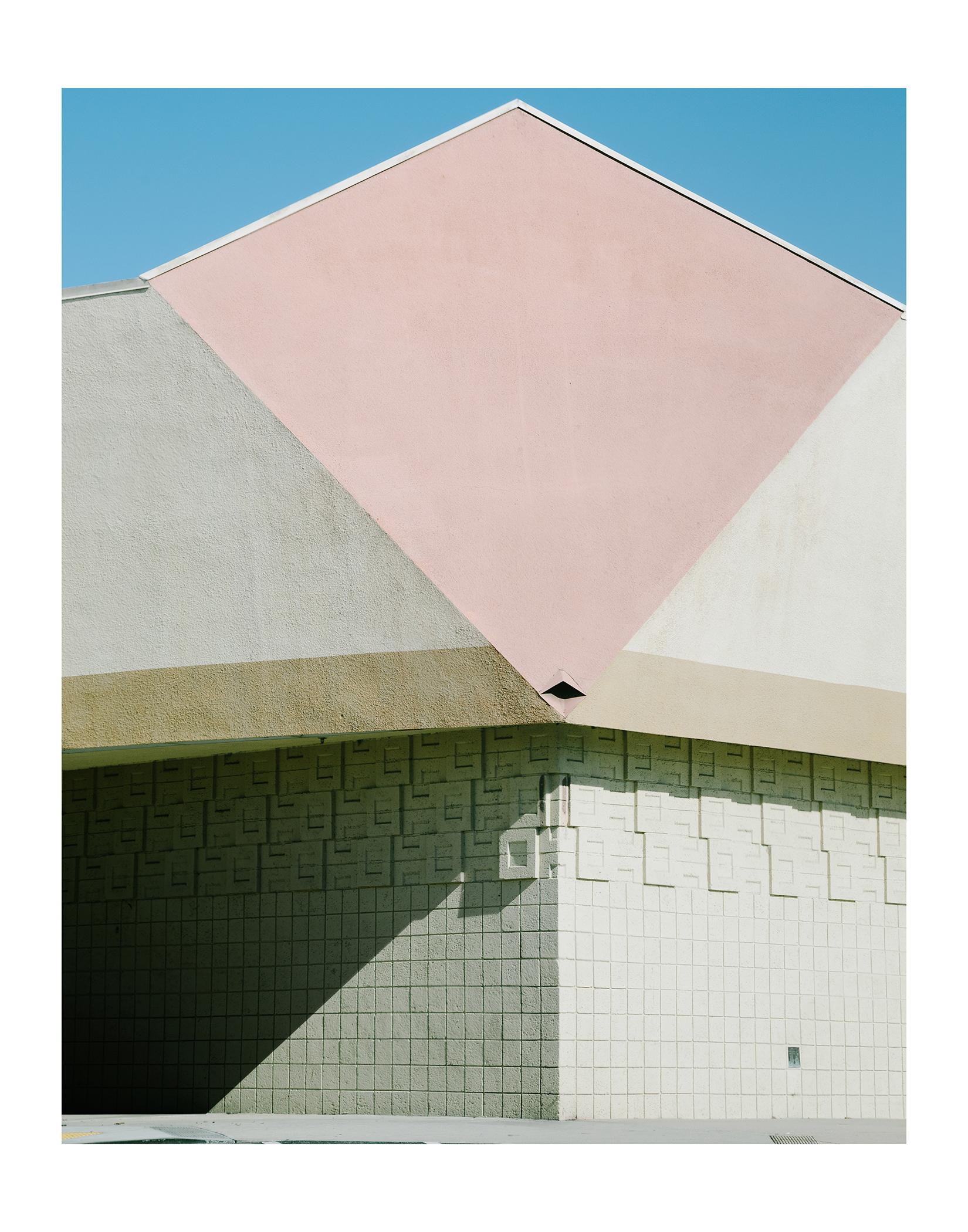 """Basic Shapes/ Huntington Beach, California    by Rachelle Mendez, $550  14"""" x 11"""" x 1"""""""