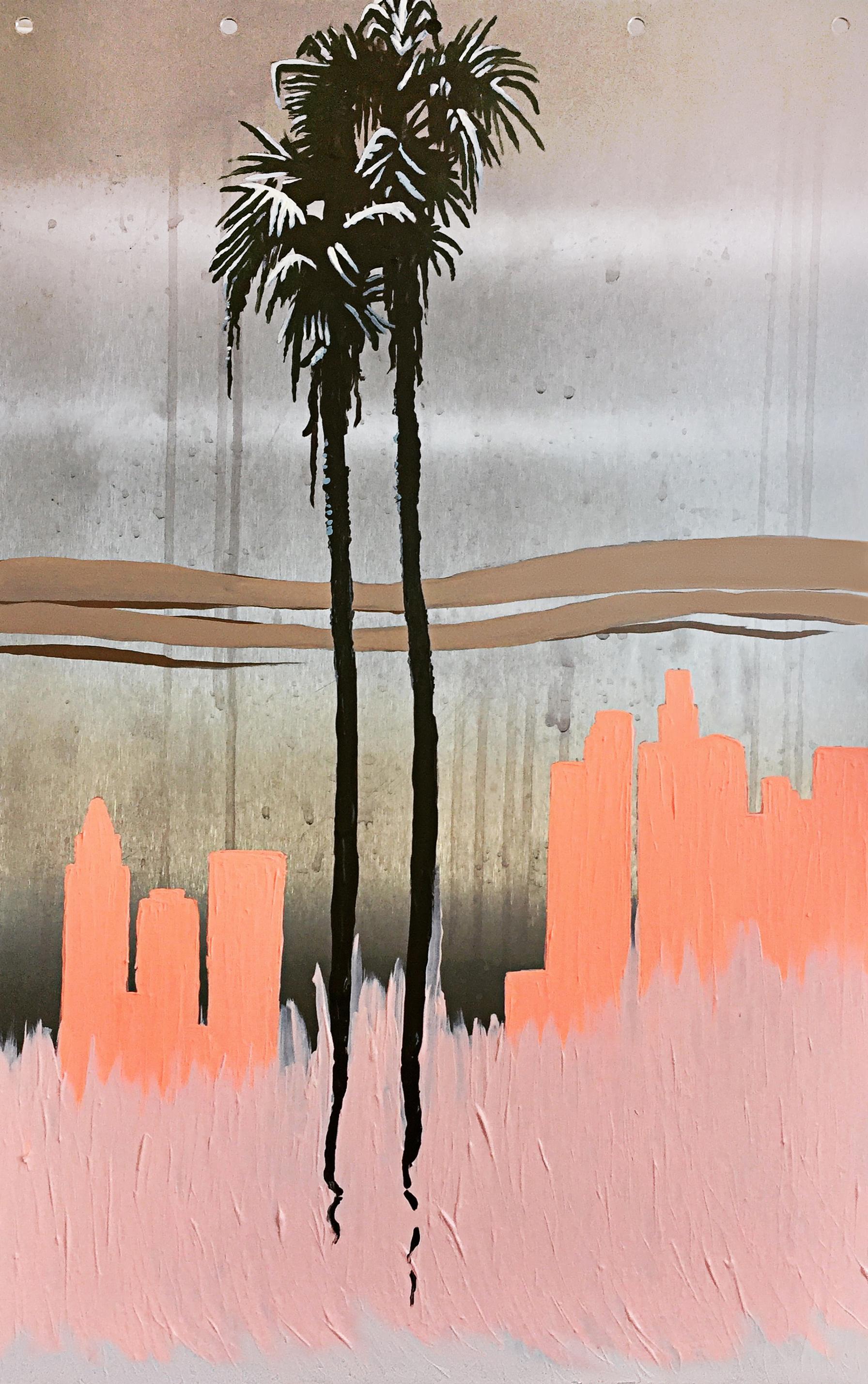 Smog on Metal by Lauren Porter - $700
