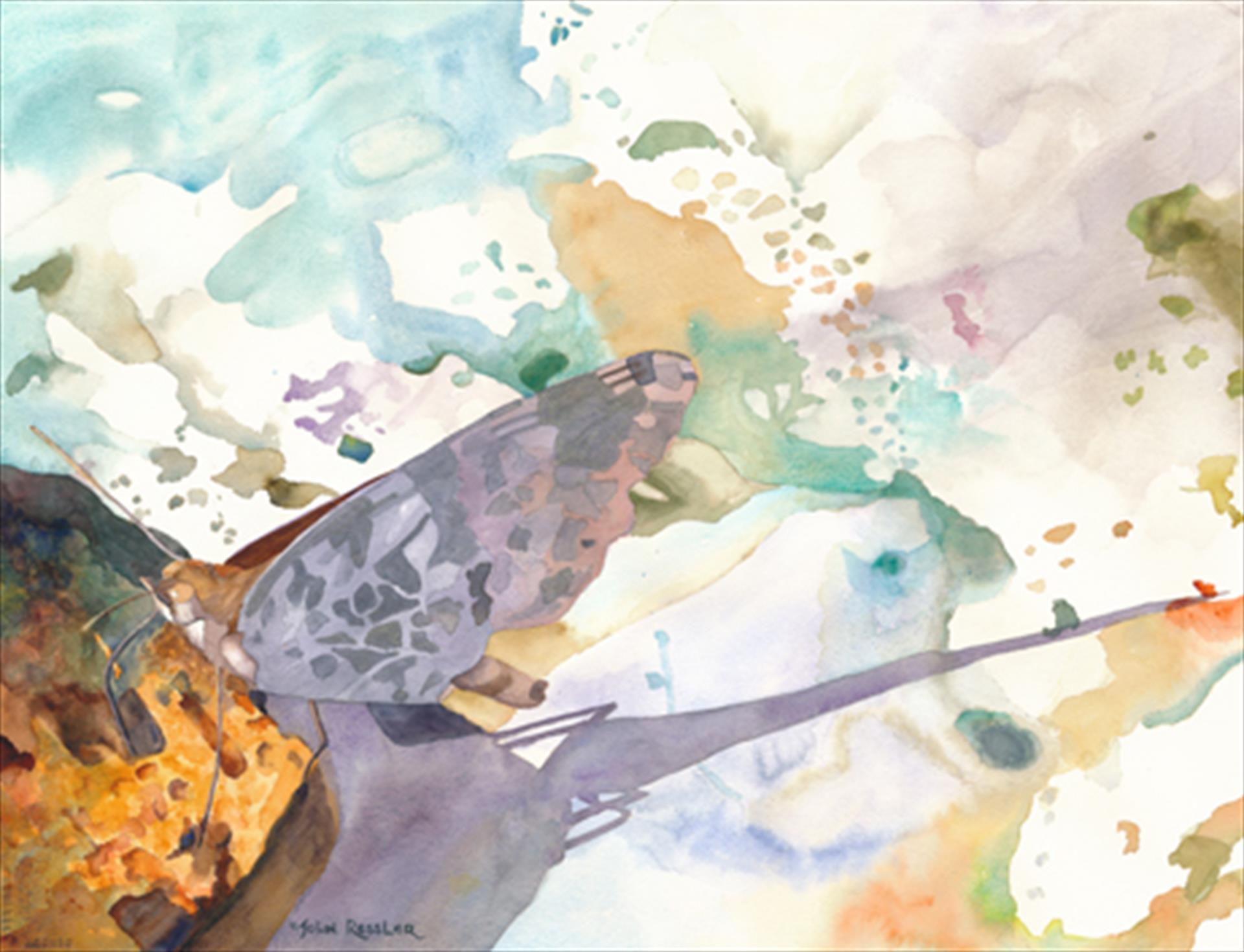 John Ressler     Palette with Paint(ed Lady)     $950