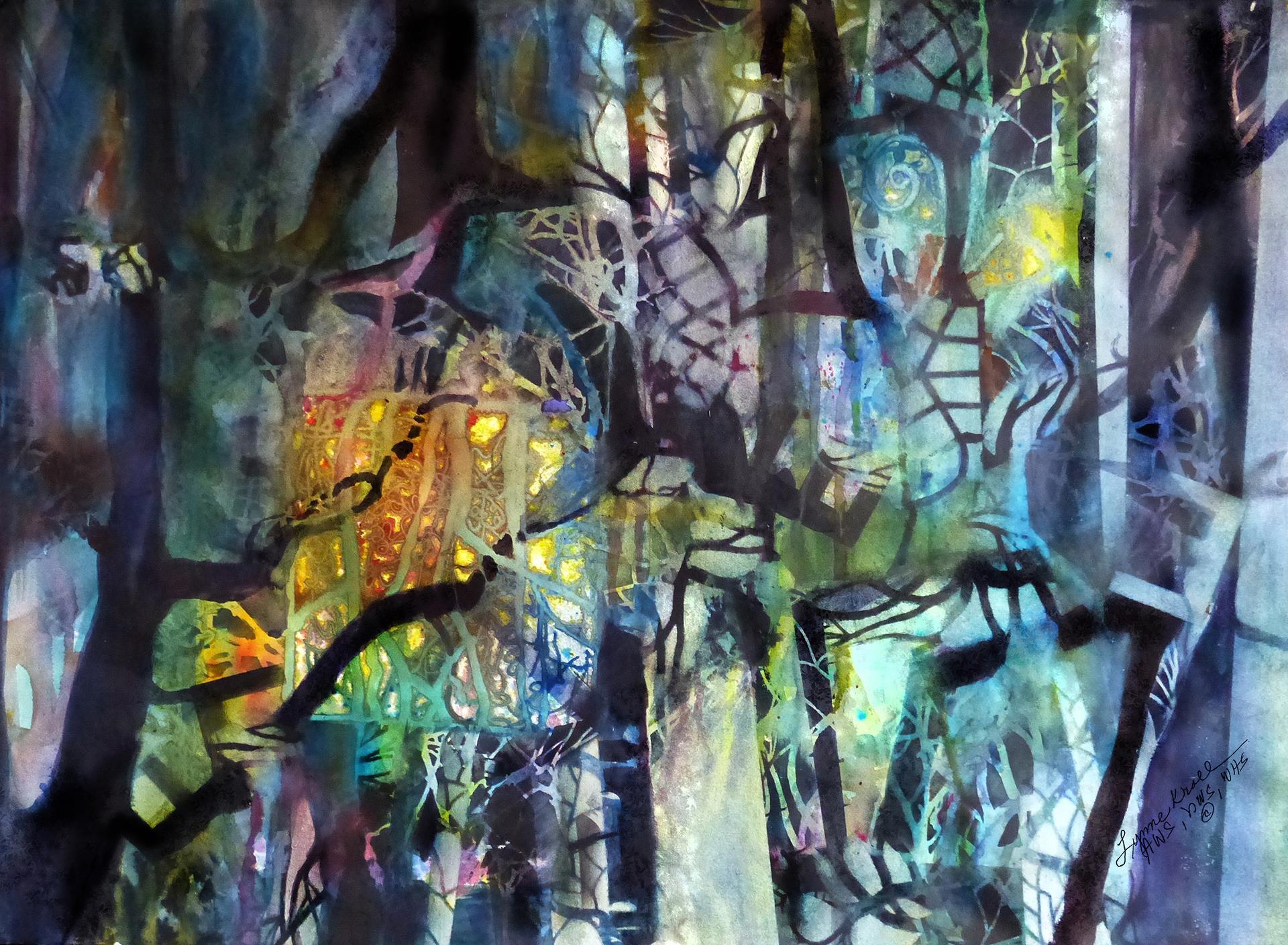Lynne Kroll      Magic in the Woods      $1200