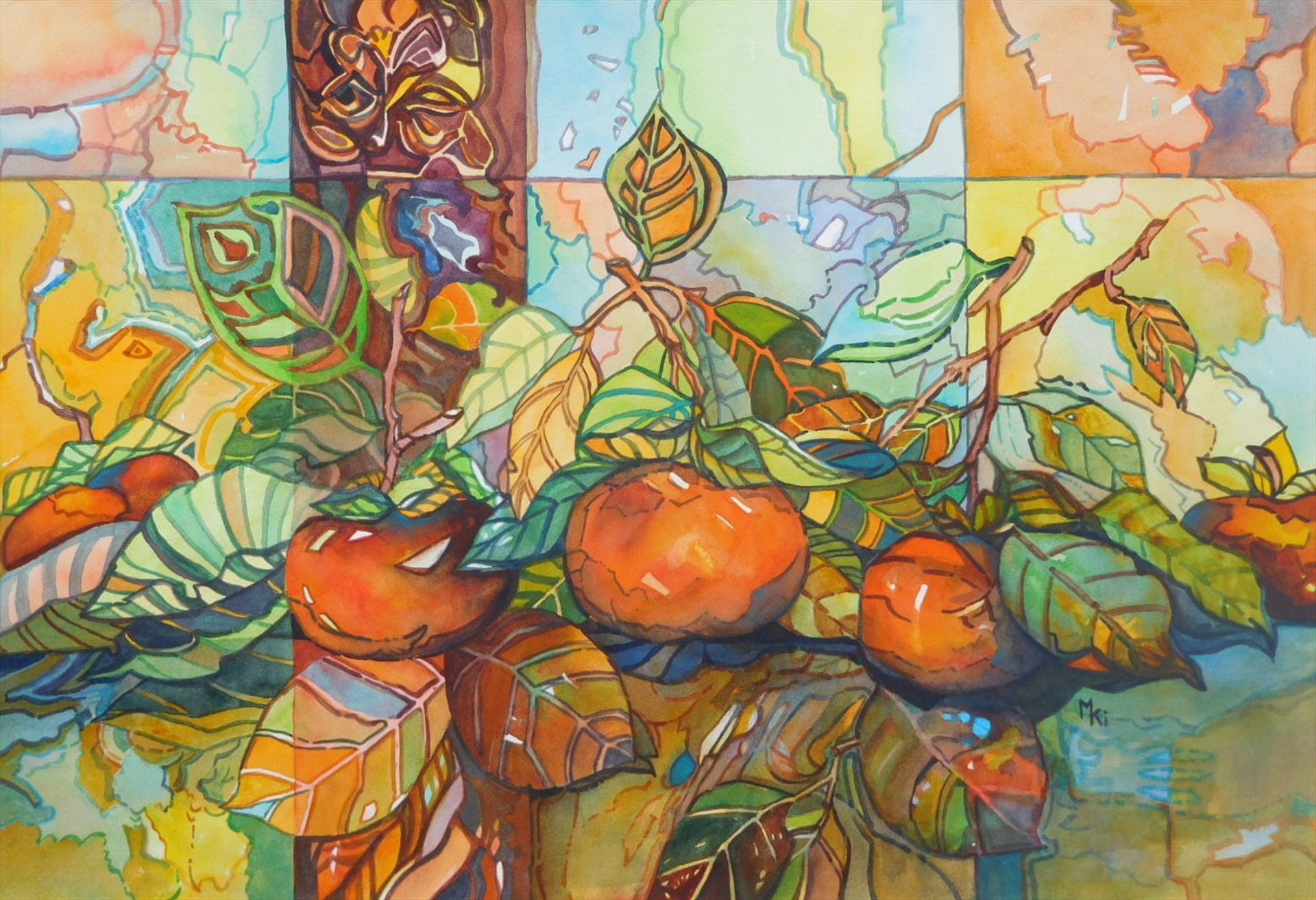 Michiko Ikeda      Autumn Harvest      $650