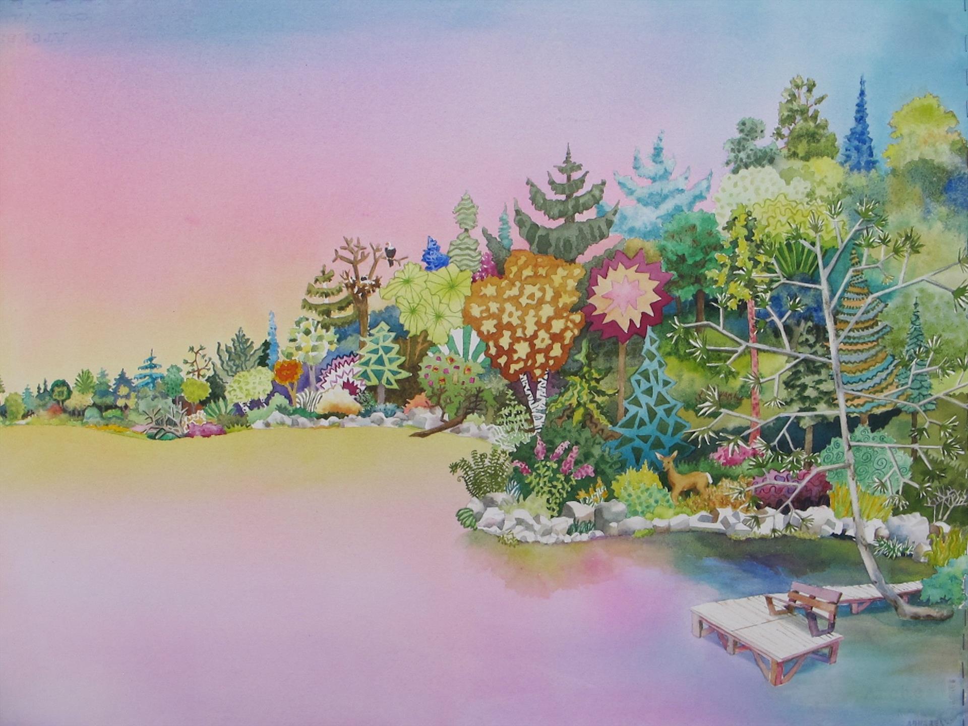 Vicki L Morley      Whimsy Woods      $900