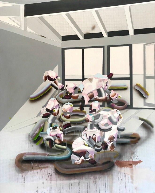 Solo Show, Digital Landscape II - Carlos Beltran Arechiga