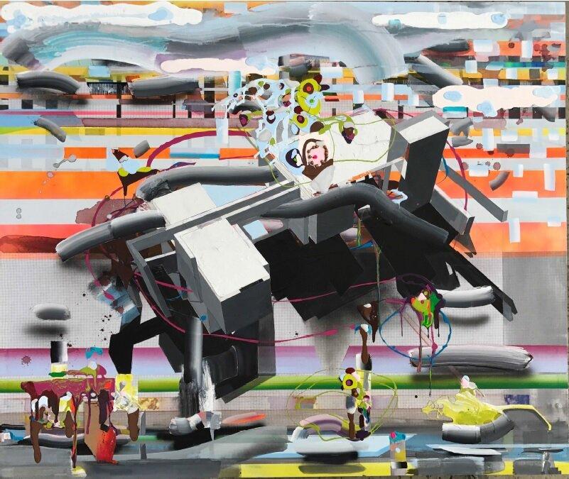 Solo Show, Digital Landscape - Carlos Beltran Arechiga