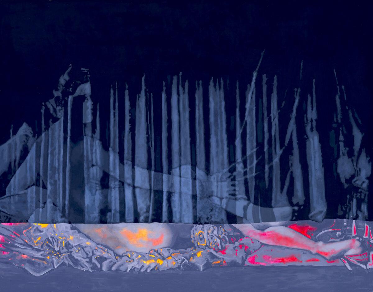 Solo Show, Curtain After Intermission - Zara Monet Feeney