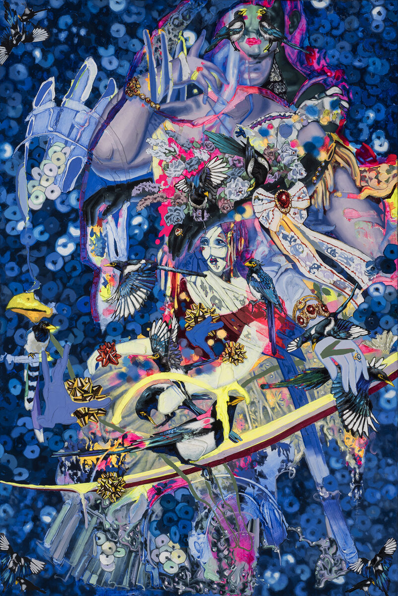 Solo Show, Magnificent Magpie - Zara Monet Feeney