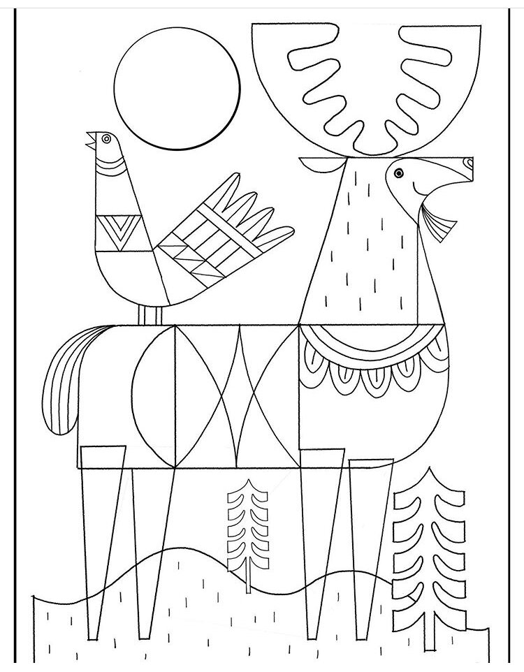 Abraham and Isaac Coloring Page - Whats in the Bible | 962x750