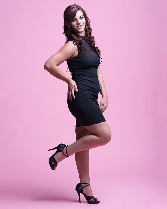 Pretty in pink. . . With @that_shoe_addict . . #tulsaphotographer #studio #justgoshoot #pink #portraitphotography