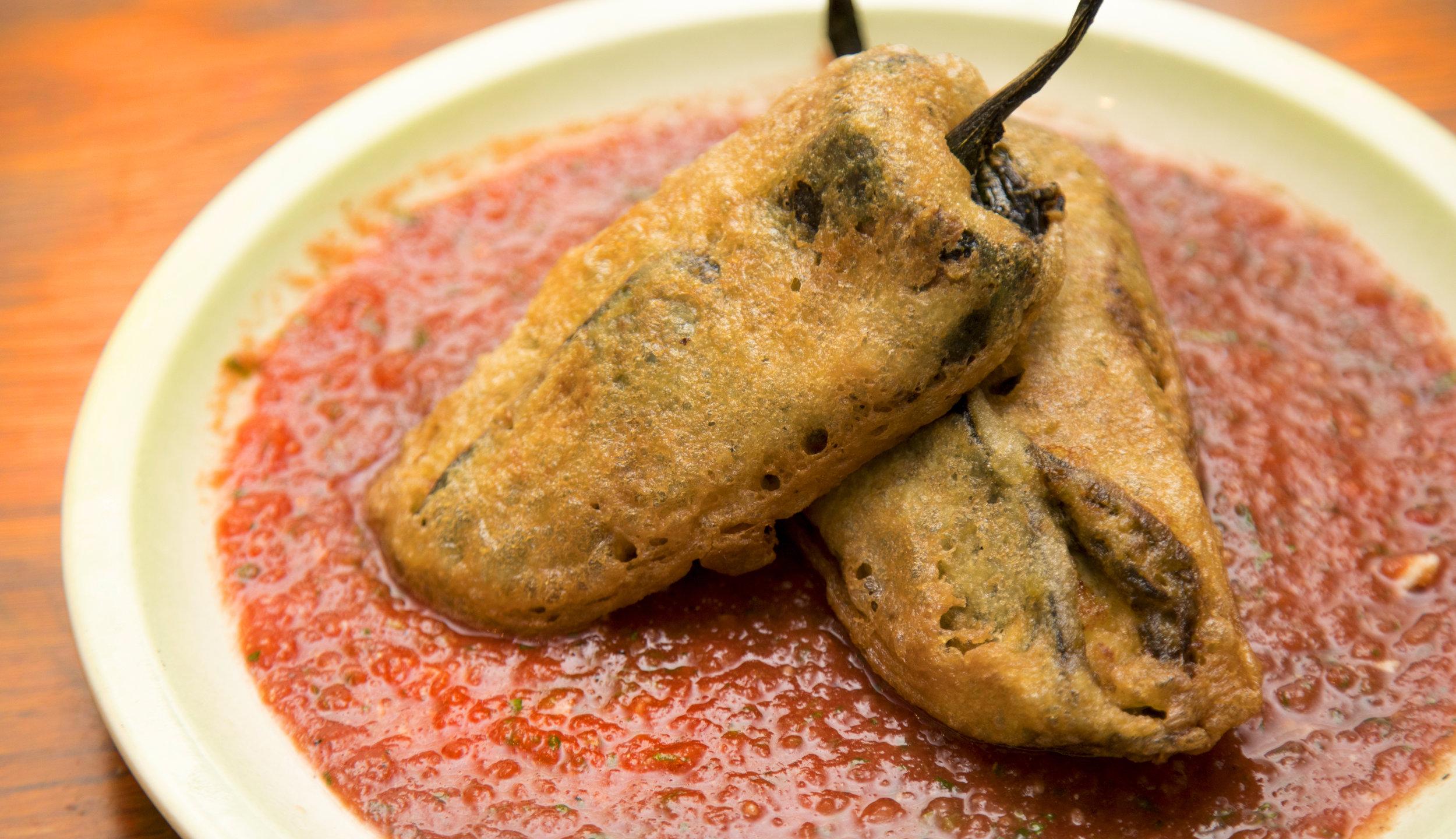 Boudin Stuffed Chili Rellenos Vegan Butcher Porch Wine Gravy Louisiana Food Recipes By Jolie Meaux