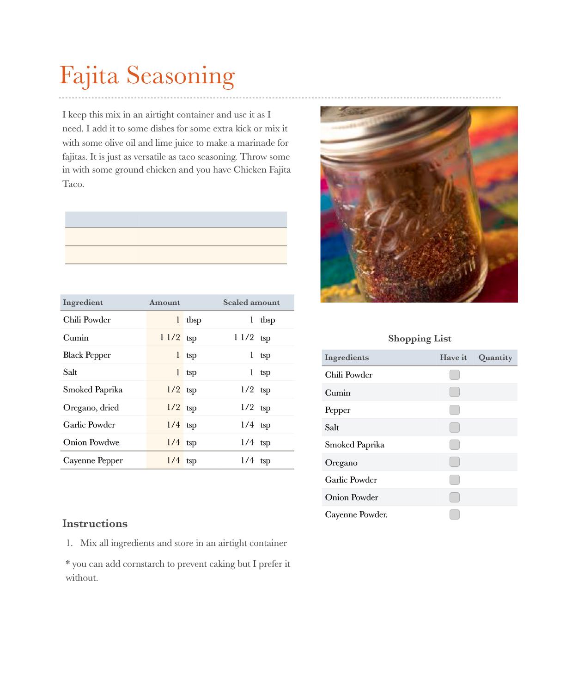 Fajita Seasoning.numbers