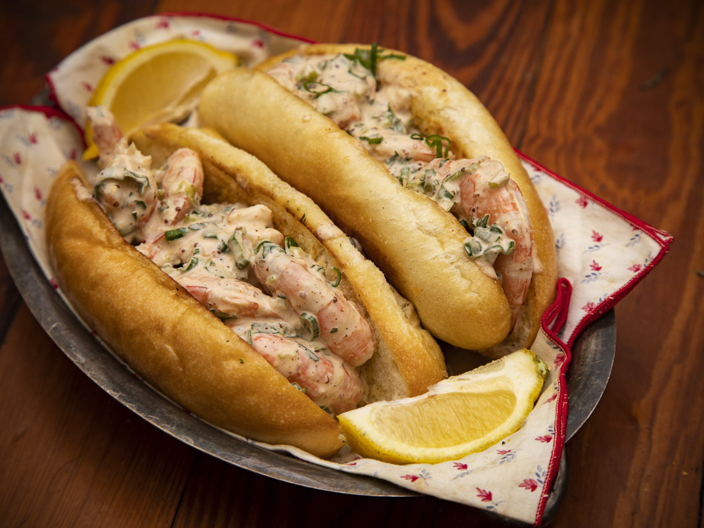 Shrimp Rolls. PW&G's answer to the Lobster Roll.