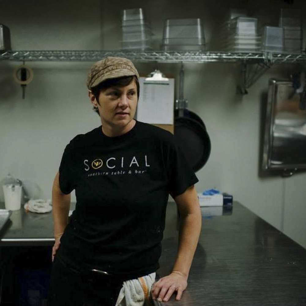Clair Burton,  Sous-Chef at Social Southern Table & Bar,  Lafayette, LA