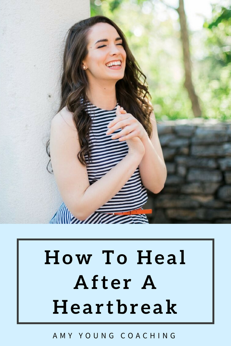 Going through a bad break-up? Here are 35 ways to heal after a heartbreak. Dating advice for women from life and relationship coach, Amy Young.