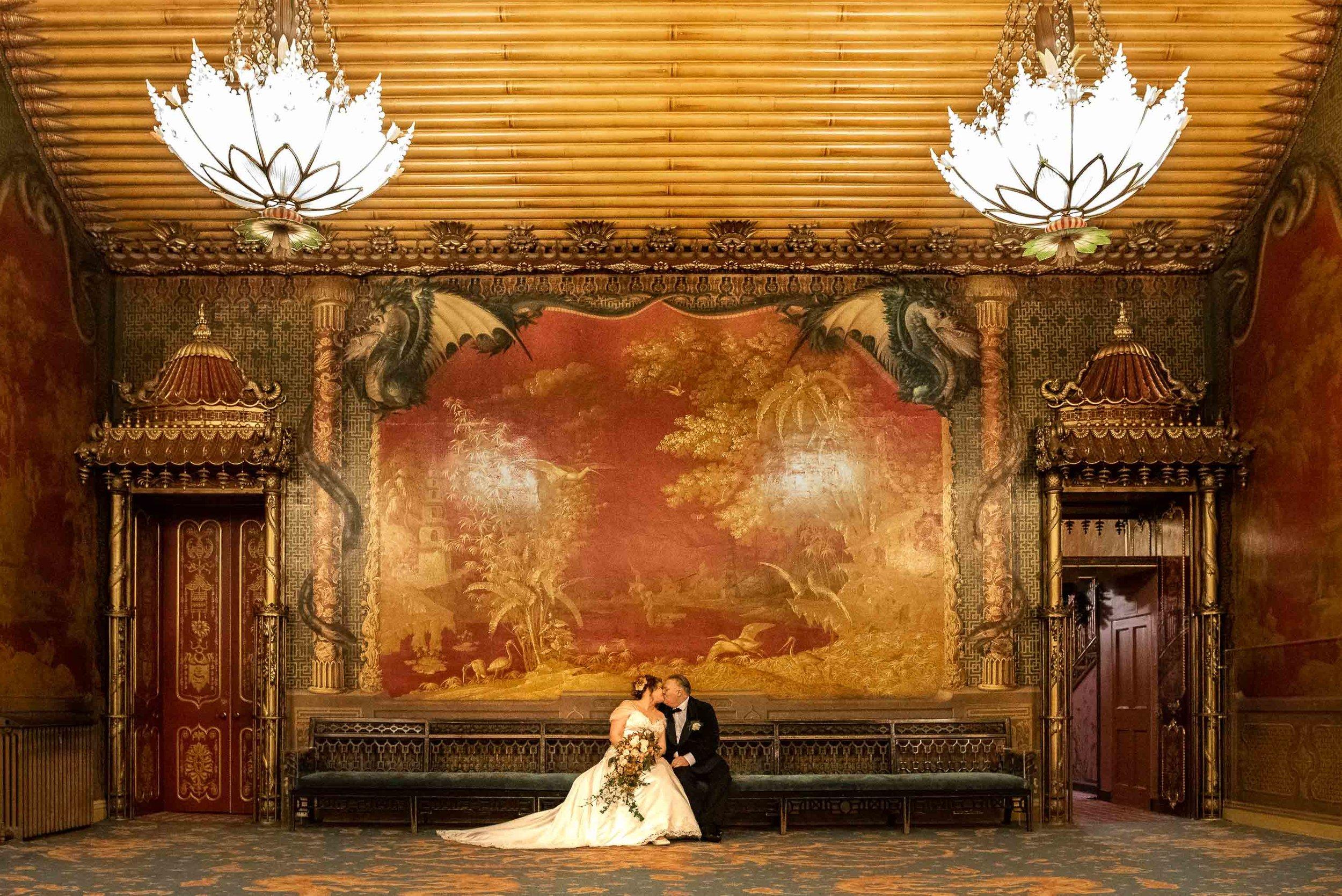 Ru & Jo Royal Pavillion wedding.