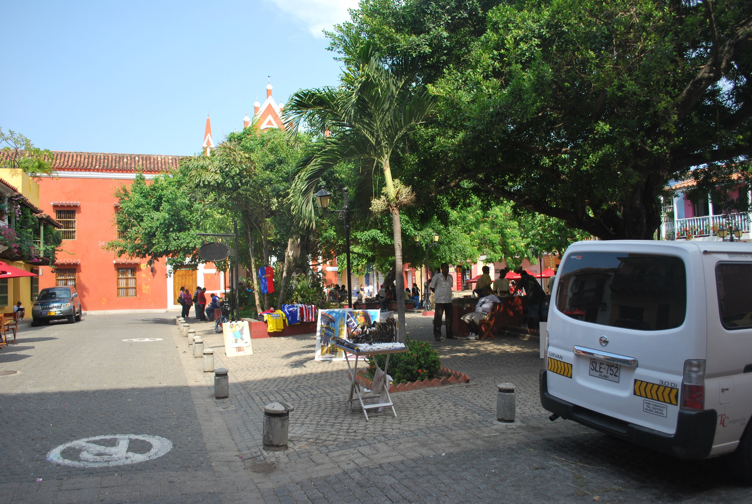A Cartagena plaza
