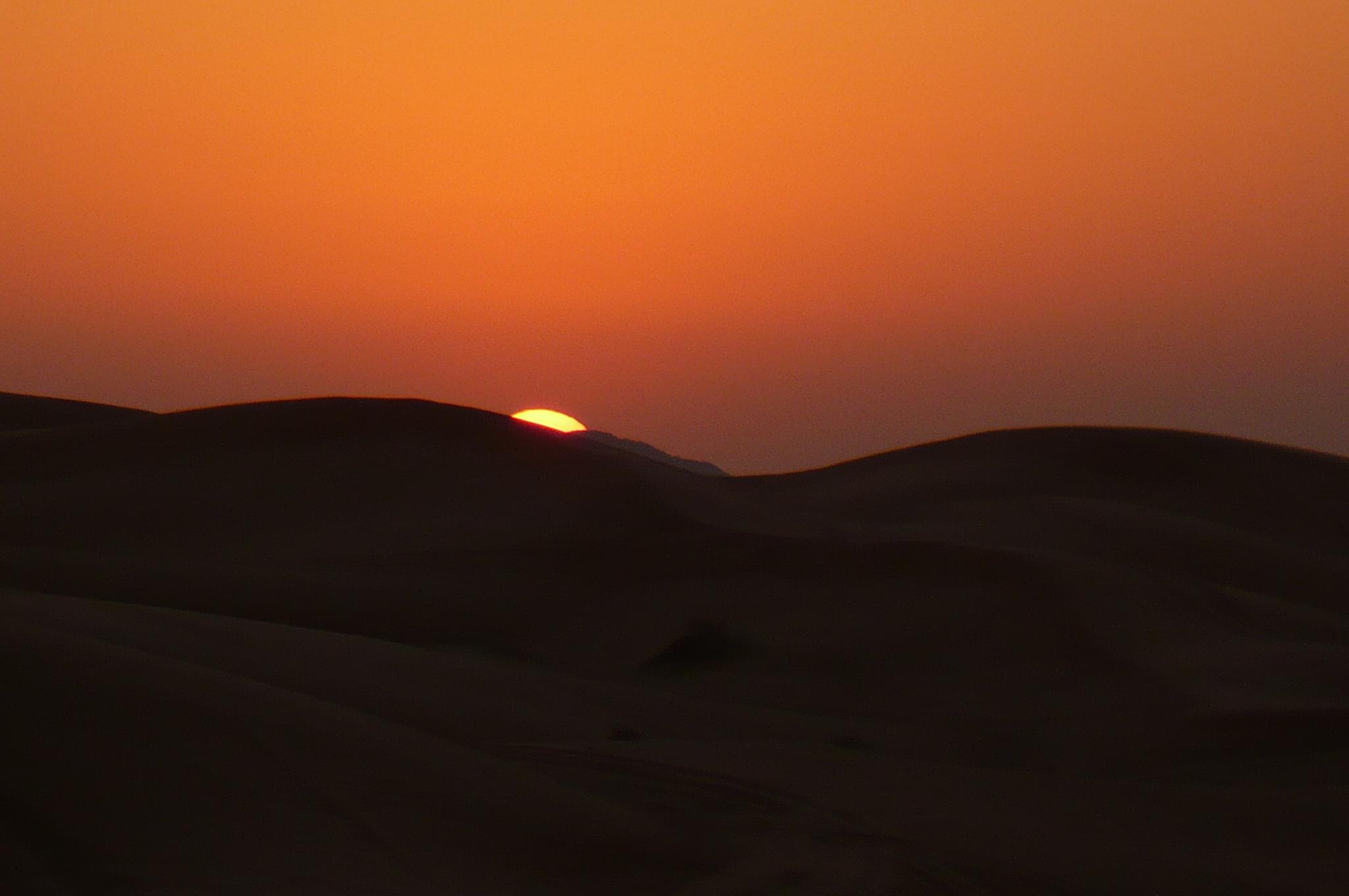 UEA sunset