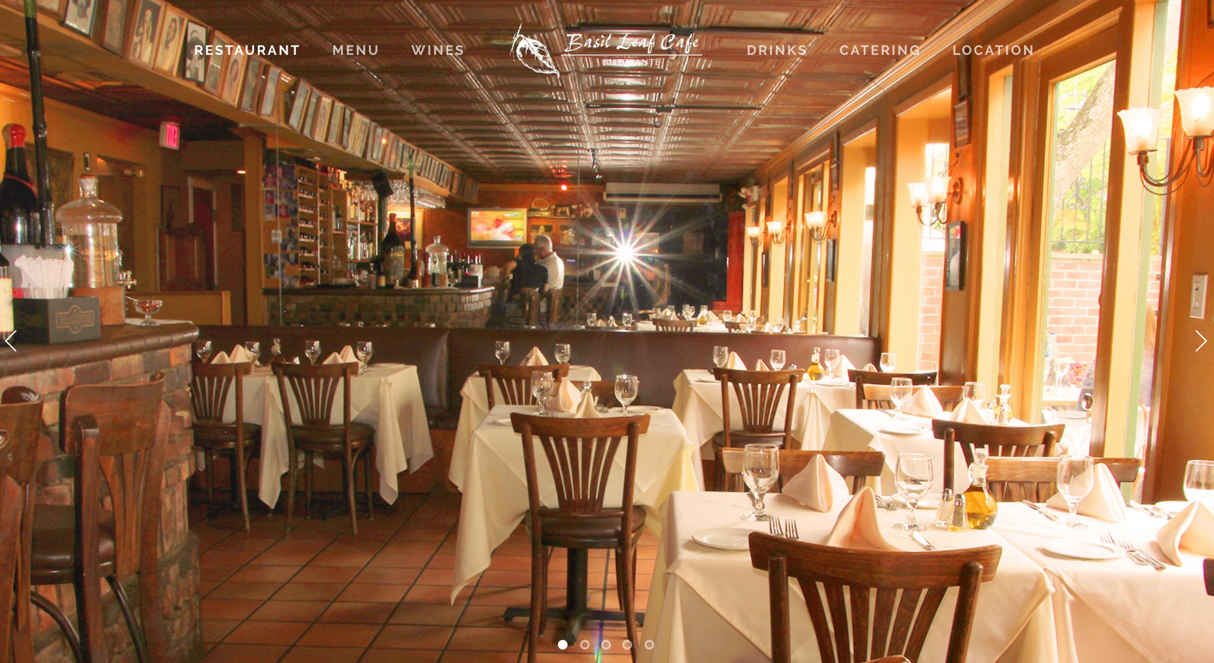 The basil leaf cafe and ristorante