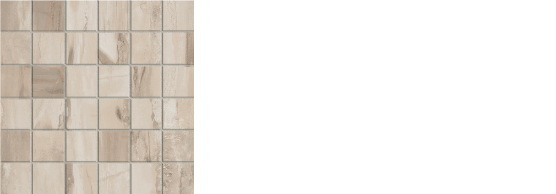 petrified wood 2x 2 mosaic on 12 x 12 sheet beige natural
