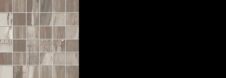 petrified wood 2x 2 mosaic on 12 x 12 sheet musk natural