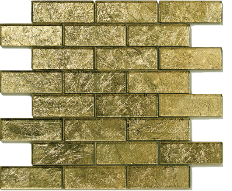 folia glass mosaic golden - willow