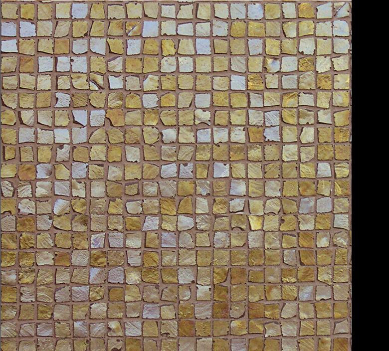 Vetro Glass Mosaic Metalli oro gold