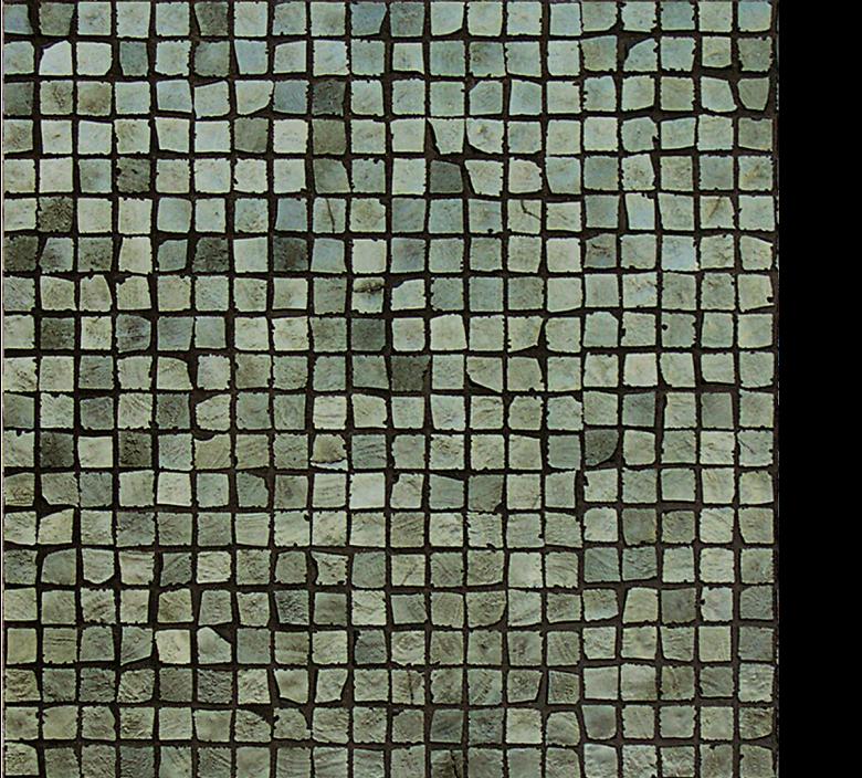 Vetro Glass Mosaic Metalli cromo green