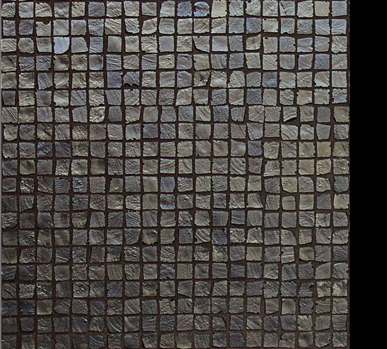 Vetro Glass Mosaic Metalli cobalto brown, dark