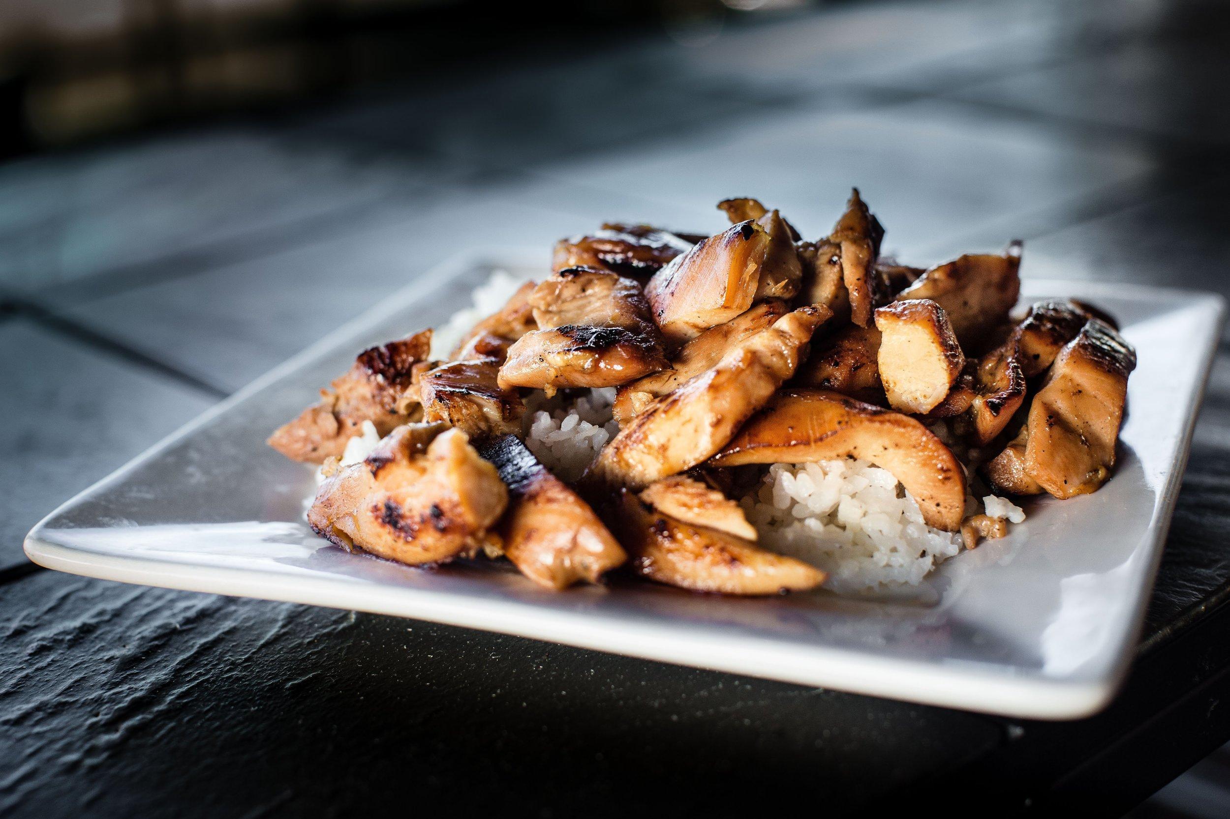 Hawaiian Lunch Favorite Chicken Teriyaki
