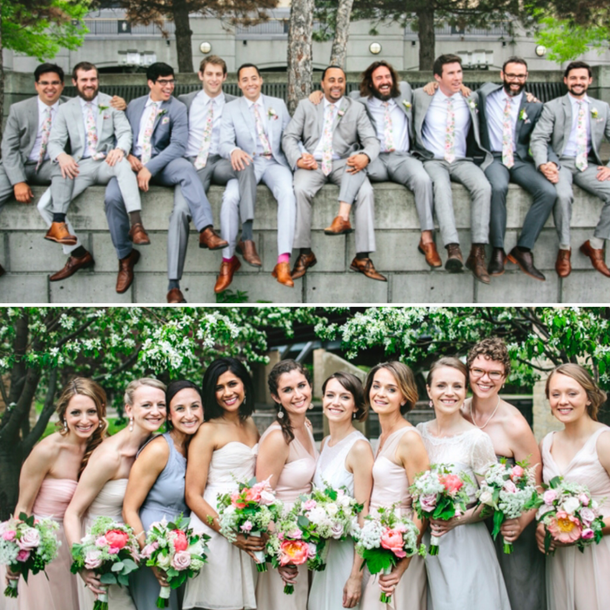 Francis + Louise bespoke design for Andrew + Betz's Wedding-Brooklyn NY