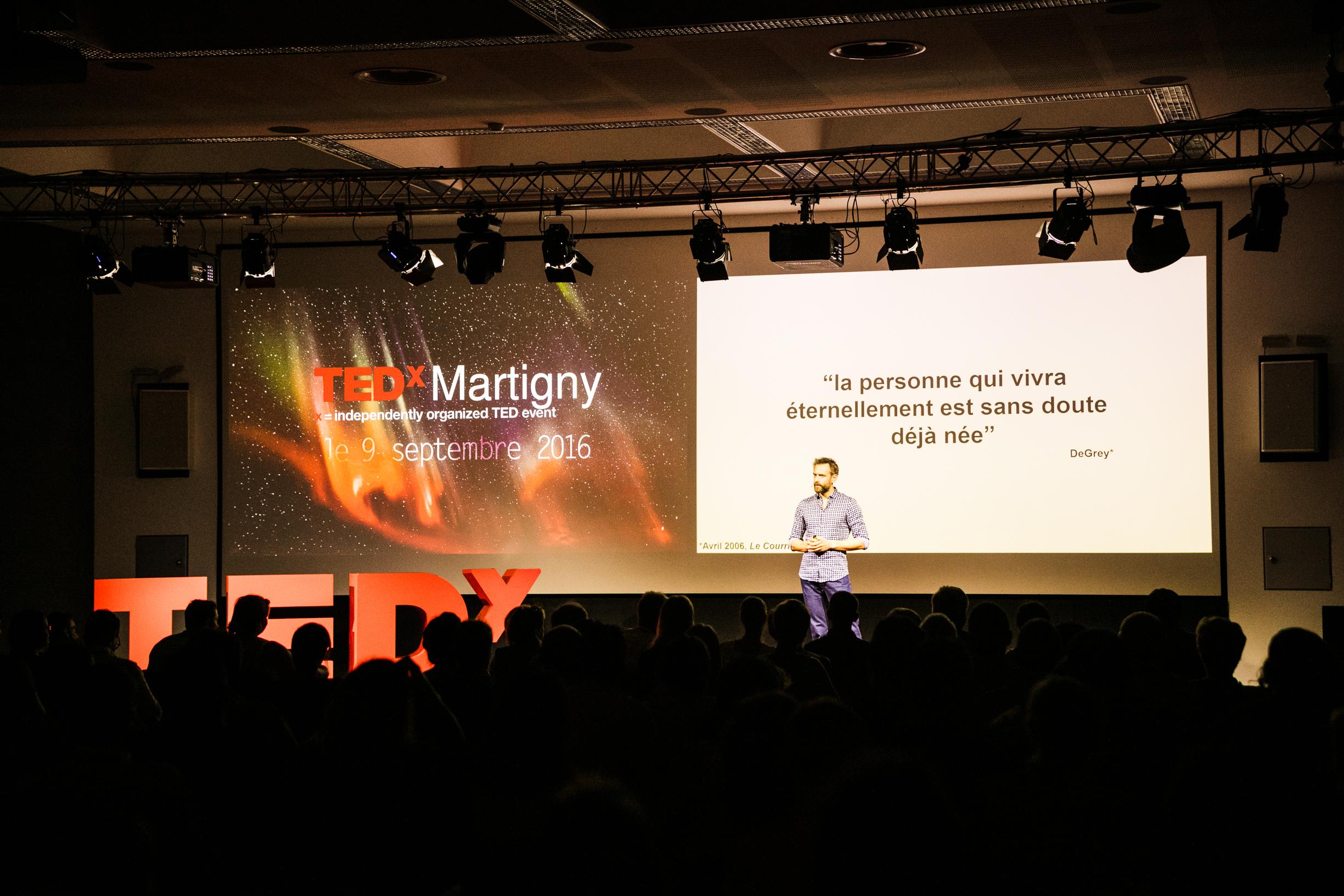 Dr. Vincent Menuz at TEDxMartigny