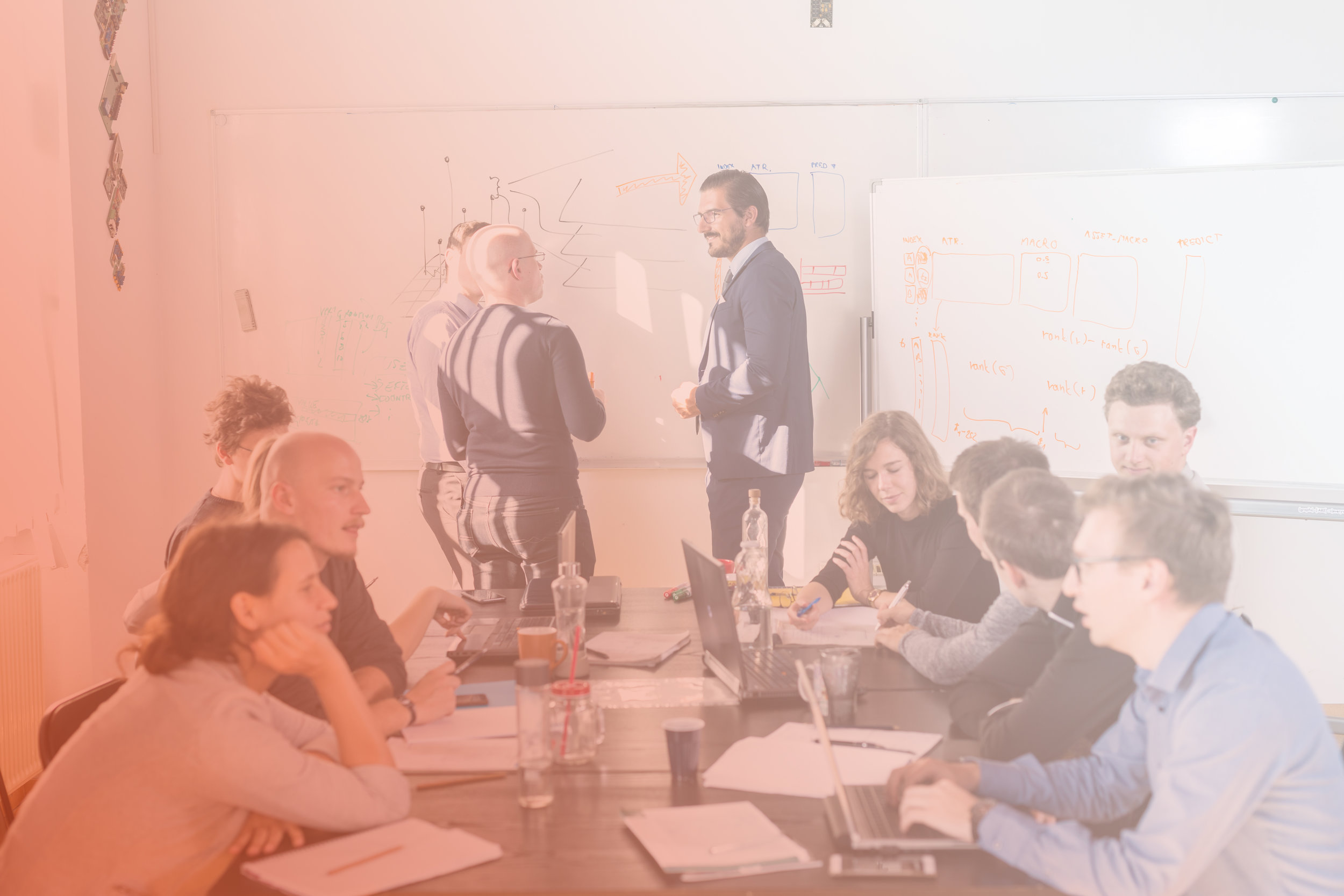 Digital Transformation Workshops - After an initial gathering of information, we design custom, multi-day workshops that define what digital transformation and innovation looks like for your business.
