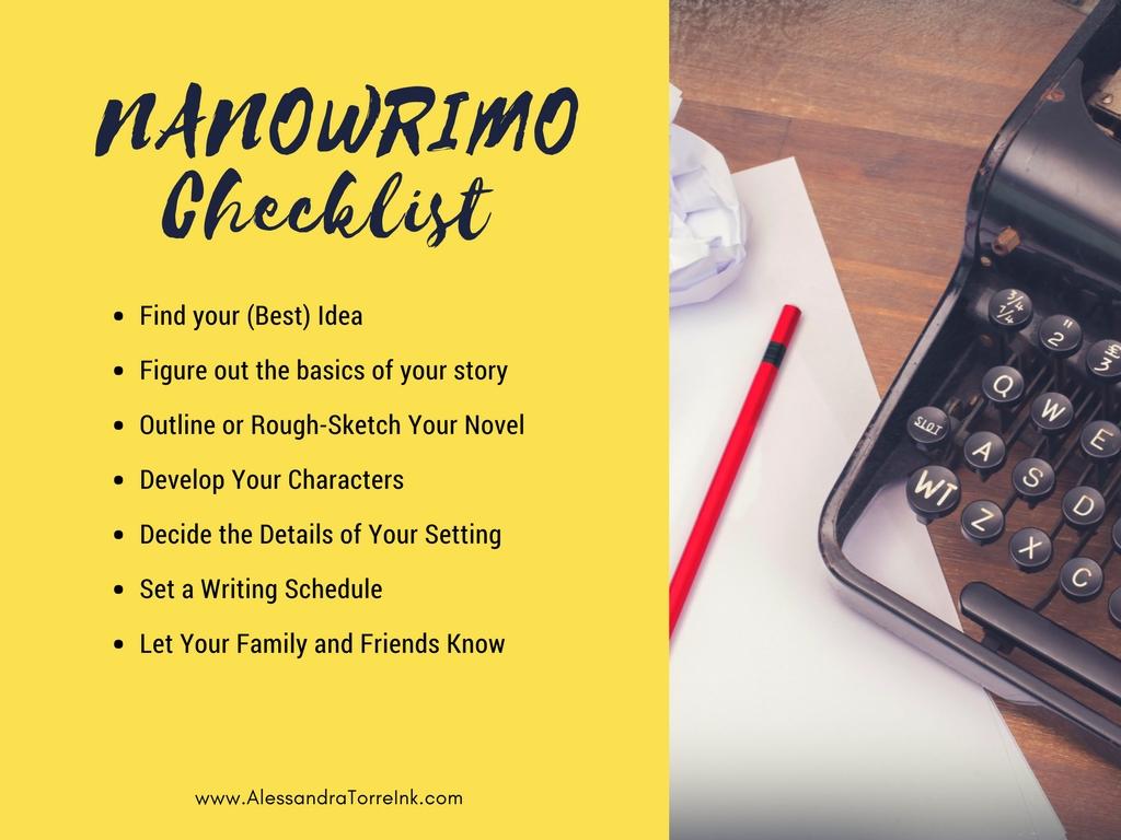 NANOWRIMO Checklist.jpg