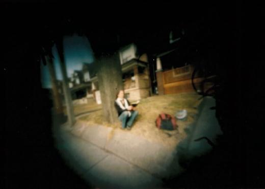 (Photo credit: Lang Liu | Photographed with a 35mm matchbox pinhole camera.)