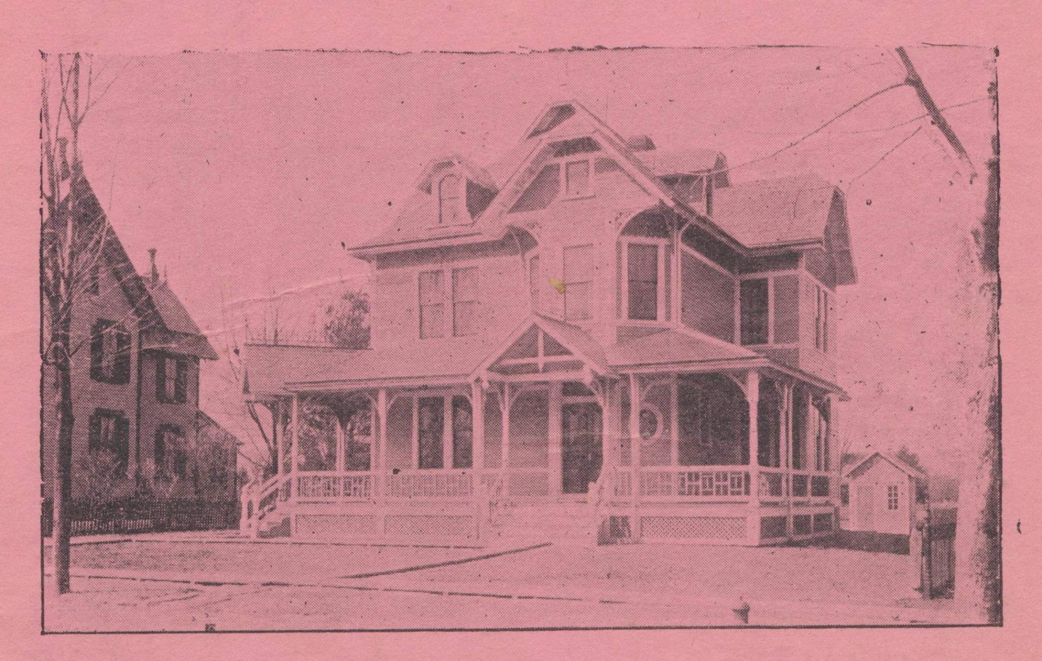 Photo reTRIEVED FROM THE ARCHIVES OF THE HADDONFIELD HISTORICAL SOCIETY.