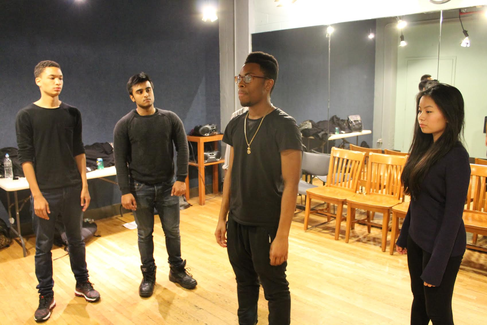 E.A.T.T.'s Cast In Rehearsal