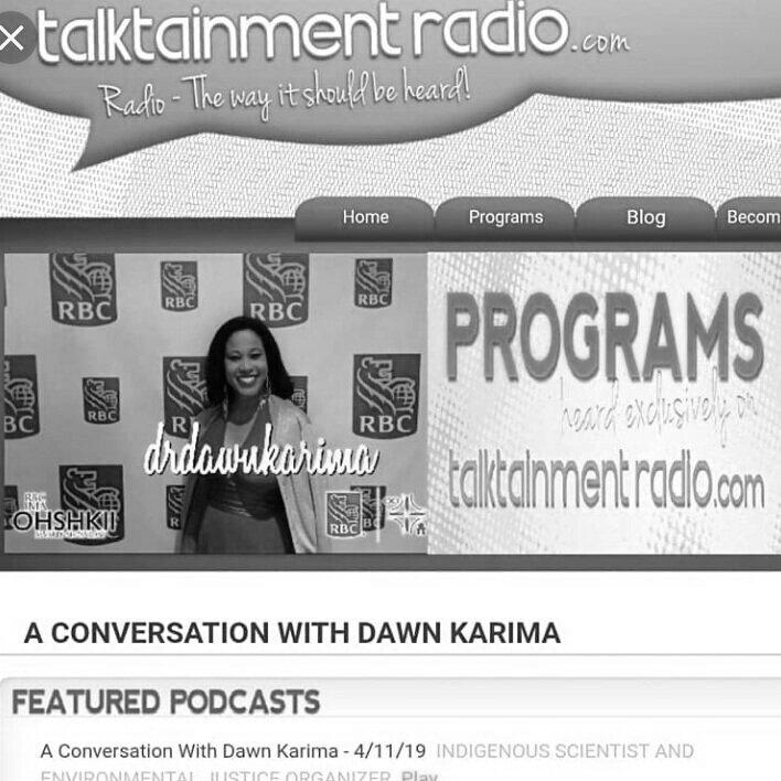 A Conversation with Dawn Karima -