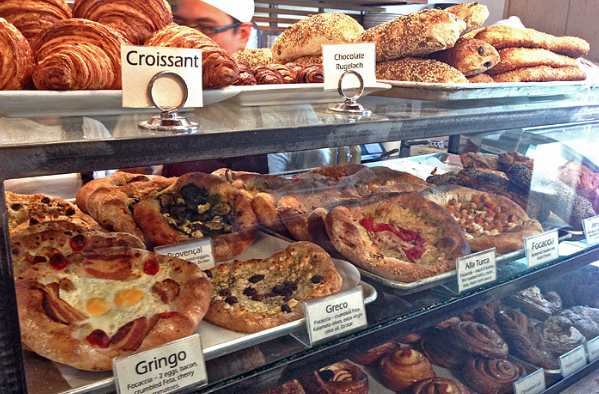 Chay and I lived in DTLA for a year and we stumbled upon this place due to its close proximity to Bestia. Take my word for it when I say its worth going off of any low carb diet for the day.   The Bread Lounge  is a bakery and cafe that bakes all of its bread onsite daily. I love the Kouign Amann and Pistachio Danish.