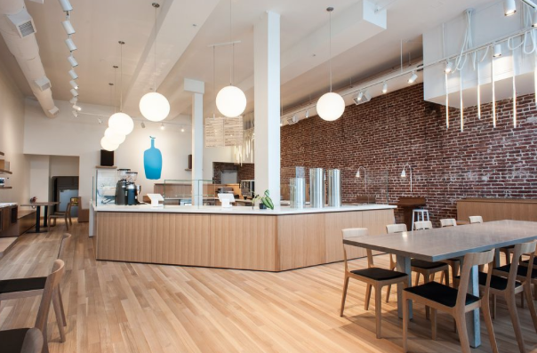 Although primarily known for its coffee,  Blue Bottle  has a fantastic breakfast menu. Chay and I love grabbing a quick bite as we take Cookie, our Vizsla pup on walks. The avocado toast and waffle are so good!