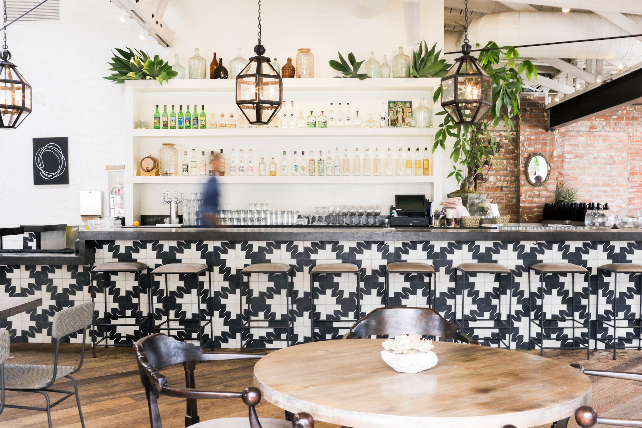 """I love this plant based Mexican food spot in West Hollywood for a casual meal with girlfriends.  Garcia Madres interior is gorgeous with cement tiles and a clean California modern feel to it. The food makes you think you could easily go vegan which is clearly a testament to how good it is. Also, the cheery """"instagrammable"""" cocktails are a must for a great girls night."""