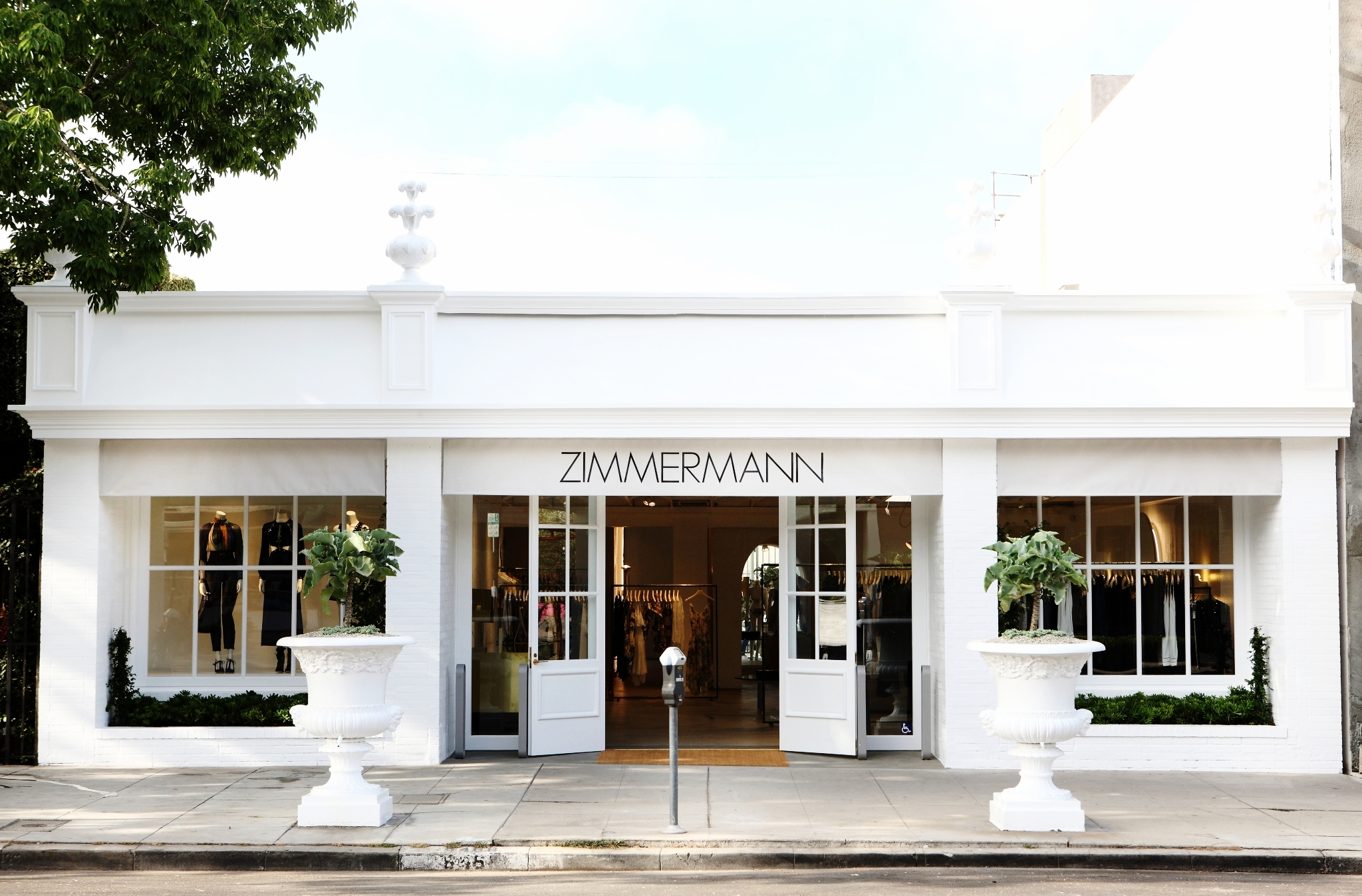 Ahhhh  Zimmermann ! I have never met a single person who loves fashion that doesn't appreciate the whimsical and detail oriented design of everything Zimmermann. I truly would wear their dresses and swim suits everyday if I could. Also located on Melrose place!