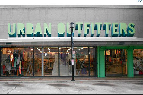 Urban Outfitters is that place for me to get a few pieces of street style wear that feel cool but weren't too expensive. I also love their fun and kitschy accessories.