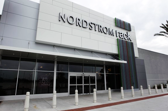 Gotta love a good  Nordstrom Rack . There are some locations that are just terrible and don't have designer scores, but stores in large cities generally get the good stuff! I love the one on La Cienega in West Hollywood.