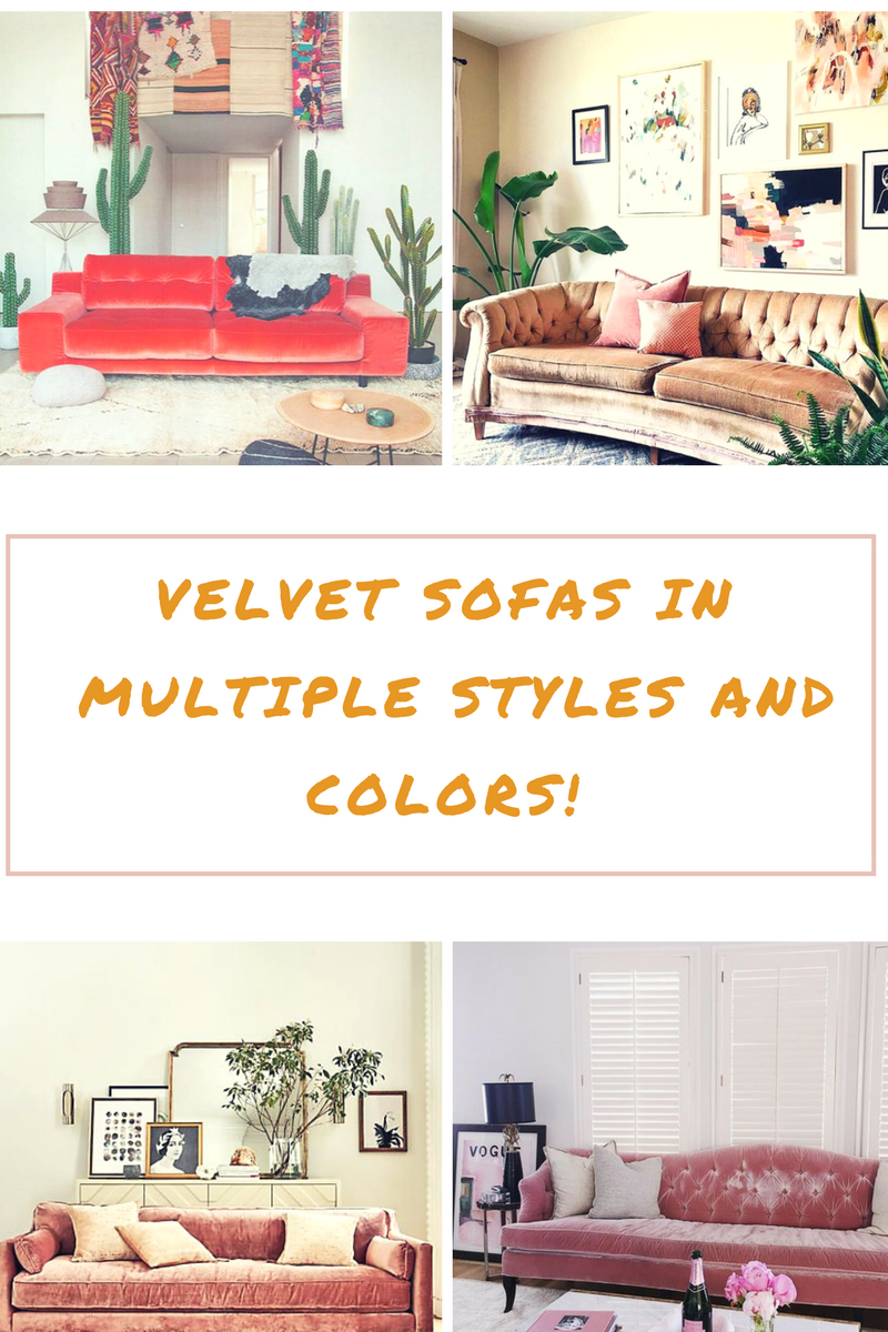 I have been dreaming of a blush couch for years now and still don't have one! One day you can bet that I will, maybe in more of a dusty rose/ champagne color. I LOOVE a neutral and feminine pink so as not to completely overtake the room. You cannot go wrong with a velvet sofa, am I right?