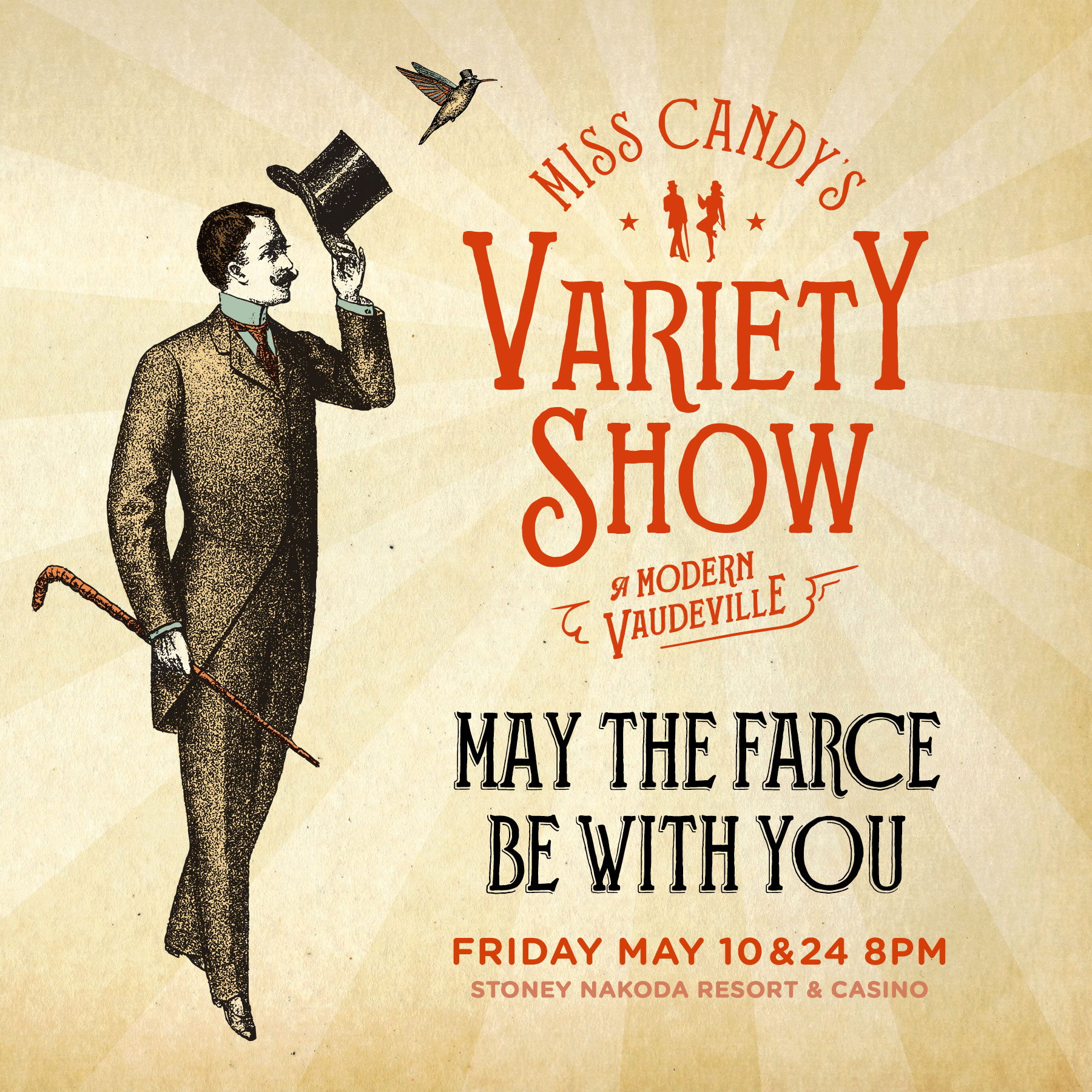 Miss Candy's Variety Show: May the Farce be With You