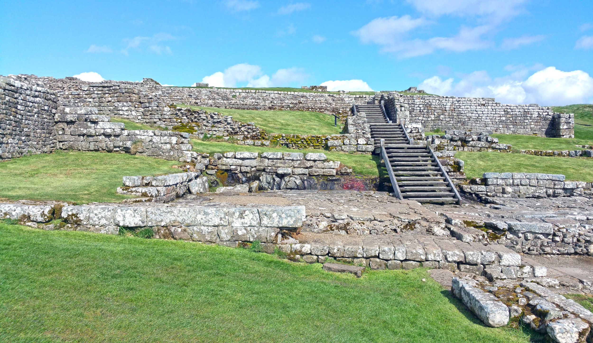 Housteads Roman Fort Wooden Stairs.jpg