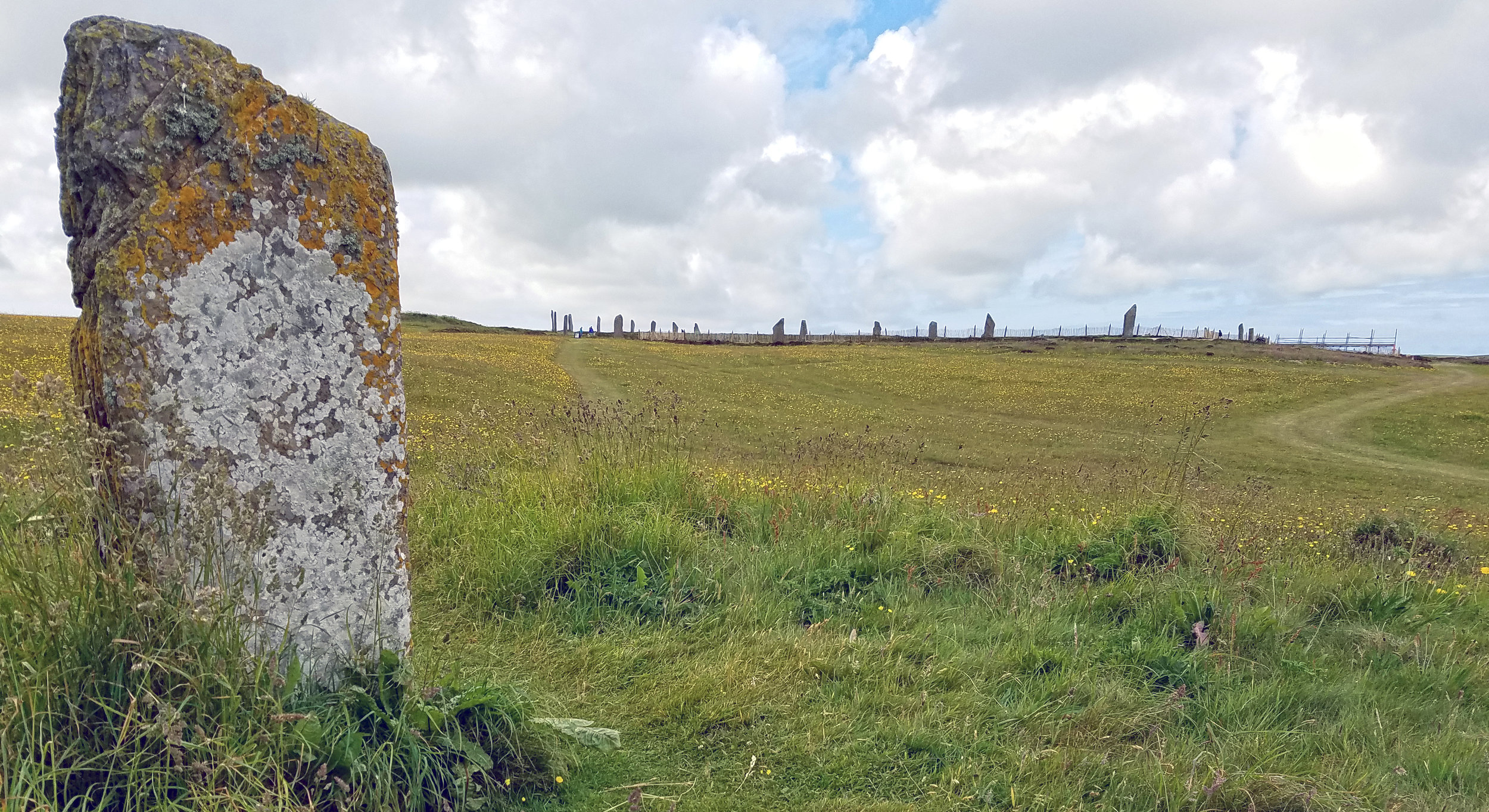 Orkney Comet Stone and Ring of Brodgar