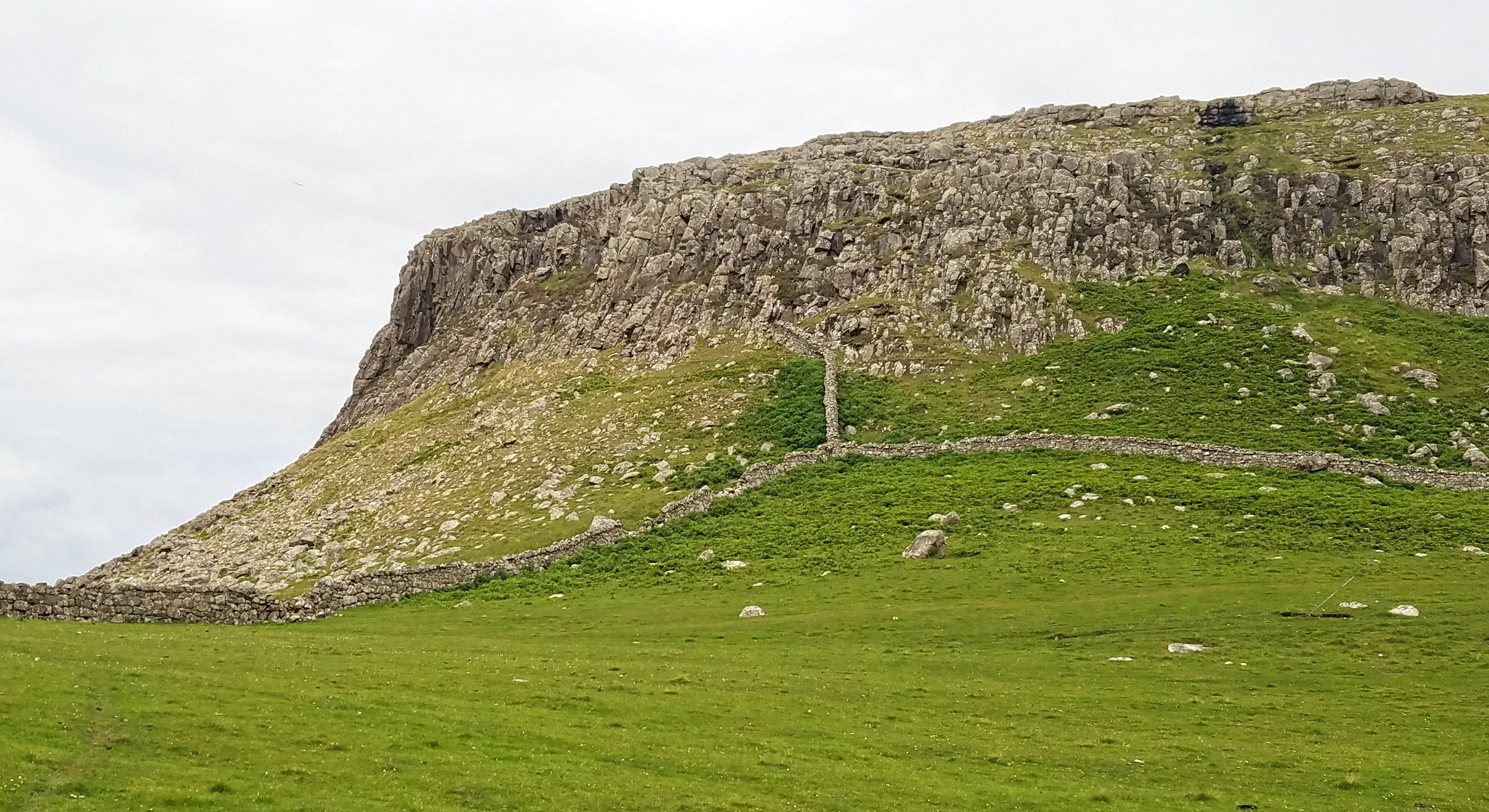 Neist Point Stone Walls