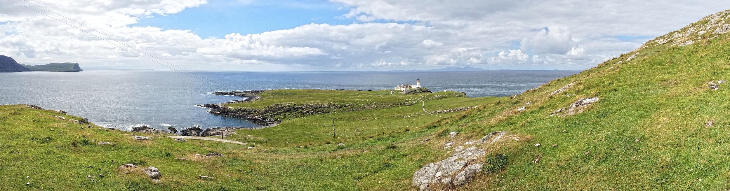 Neist Point LIghthouse Panorama